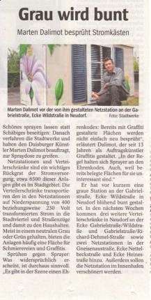 Artikel Netzstation in Neudorf