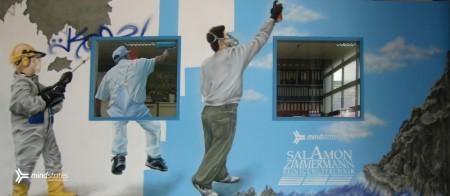 Selbstportrait des Graffiti Künstlers Marten Dalimot