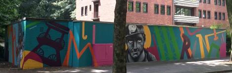 Der komplette Graffiti Auftrag