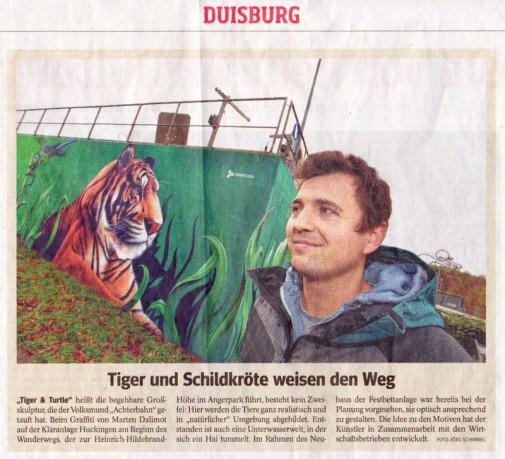 WAZ Artikel vom 28.11.2014 - Klärwerk Huckingen