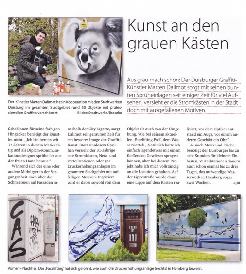 Artikel Location Magazin